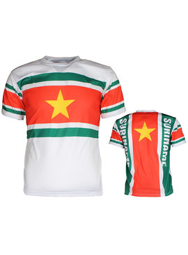 Suriname Suriname Voetbal T-Shirt