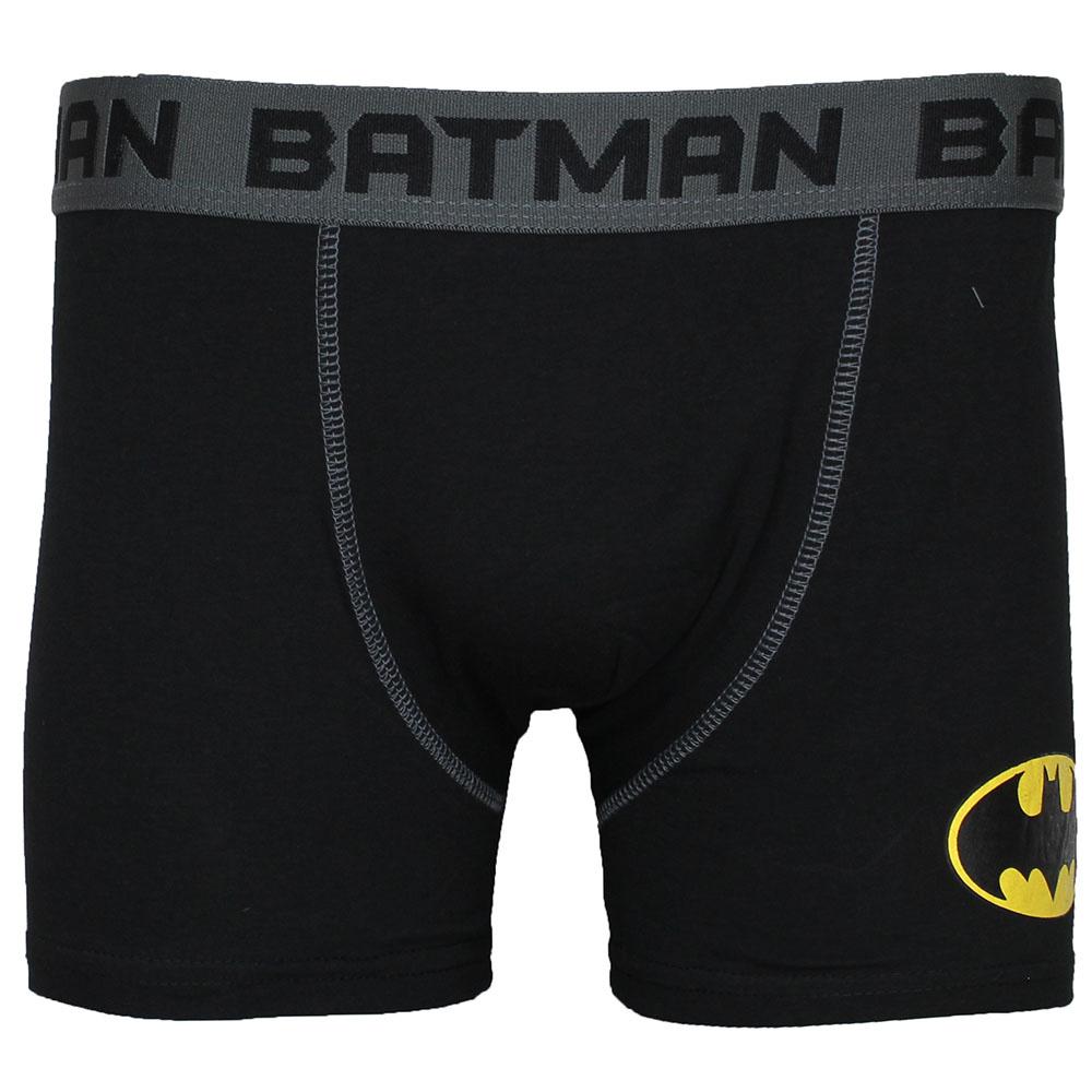Batman DC Comics Batman Logo Boxershort Onderbroek Zwart/Grijs/Geel