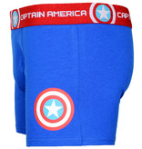 Marvel Comics: The Avengers, Captain America, Spider-Man, The Hulk, Thor, Black Panther, Deadpool, Ant-Man, Iron Man, The Punisher Marvel Comics Captain America Logo Boxershort Underwear Blue/Red/White