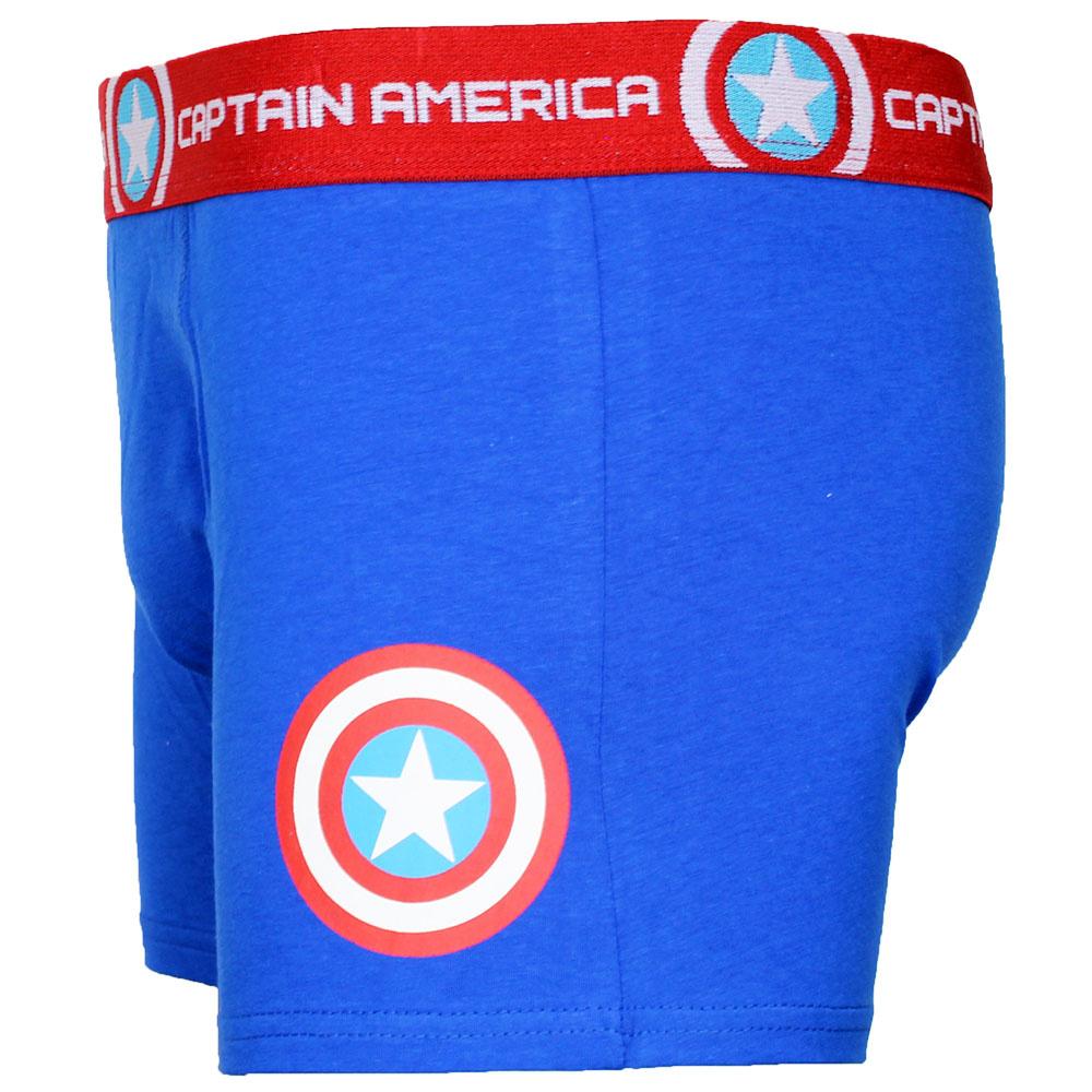Captain America Marvel Comics Captain America Logo Boxershort Onderbroek Blauw/Rood/Wit