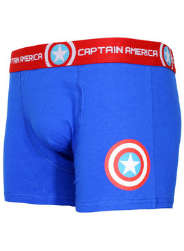 Marvel Comics: The Avengers, Captain America, Spider-Man, The Hulk, Thor, Black Panther, Deadpool, Ant-Man, Iron Man, The Punisher Marvel Comics Captain America Logo Boxershort Underwear