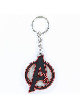 The Avengers Marvel Comics The Avengers Logo Rubber Keychain