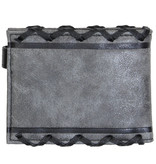 Dungeons & Dragons Dungeons & Dragons Lace Logo Bifold Wallet  Grey