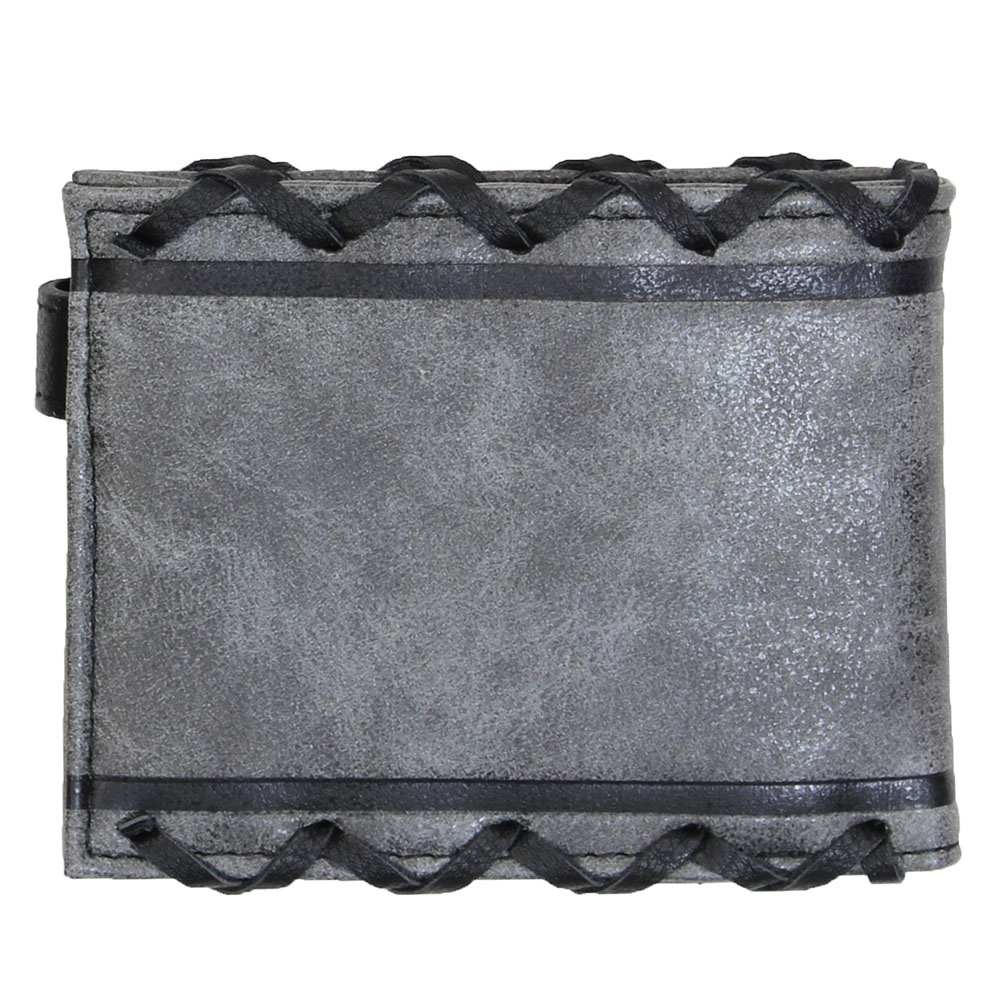 Dungeons and Dragons Dungeons & Dragons Lace Logo Bifold Portemonnee Grijs