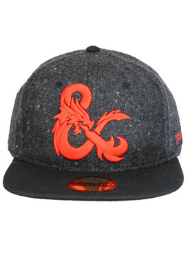 Dungeons and Dragons Dungeons & Dragons Ampersand Logo Vilten Snapback Cap Pet