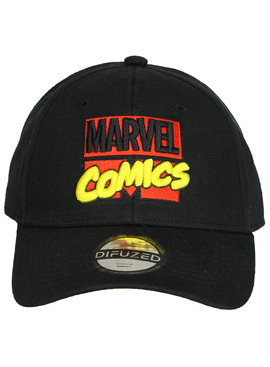 Marvel Comics: The Avengers, Captain America, Spider-Man, The Hulk, Thor, Black Panther, Deadpool, Ant-Man, Iron Man, The Punisher Marvel Comics Classic Logo Verstelbare Cap Pet