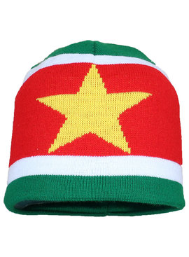 Fun & Fashion Suriname Vlag Muts Flag Beanie