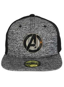 The Avengers Marvel Comics The Avengers Metalen Logo Snapback Cap