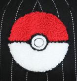 Pokémon Pokémon 3D Pokéball Varsity Snapback Cap Pet Rood / Wit / Zwart