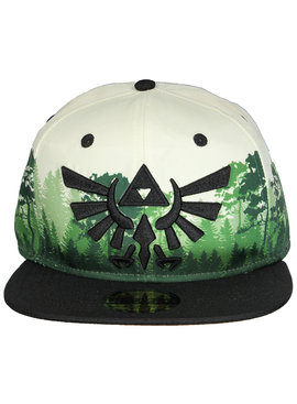 The Legend of Zelda The Legend of Zelda Forest Hyrulian Crest Logo Snapback Cap