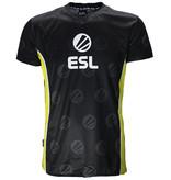ESL Electronic Sports League ESL E-Sports Victory Jersey T-Shirt Black / White / Yellow