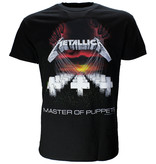 Metallica Metallica Master Of Puppets T-Shirt Zwart / Rood