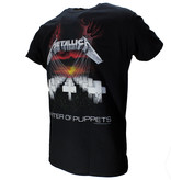 Metallica Metallica Master Of Puppets T-Shirt Black / Red