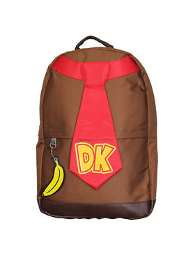 Super Mario Bros Nintendo Donkey Kong Tie Backpack