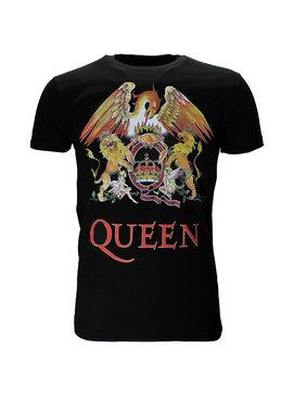 Queen Queen Classic Crest Logo Band T-Shirt