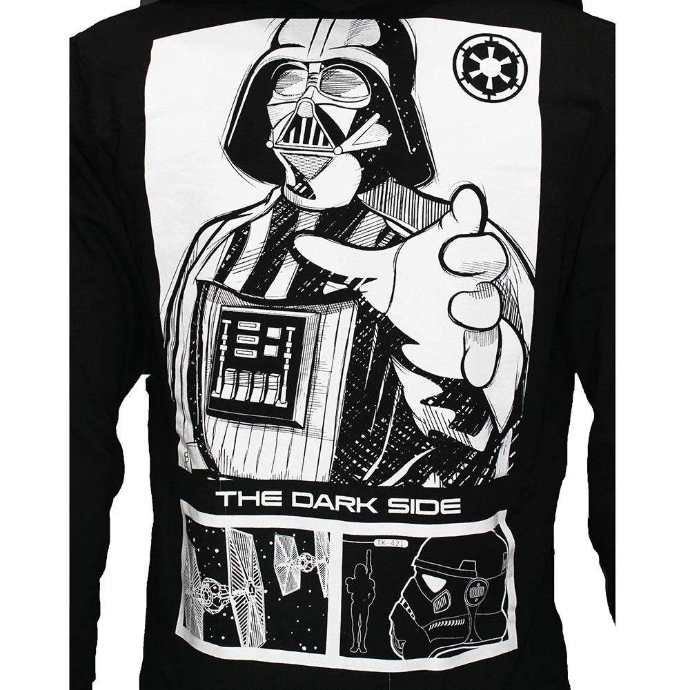 Star Wars Star Wars Darth Vader The Darkside Zipper Hoodie Black