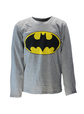 Batman DC Comics Batman Logo Kids Longsleeve Shirt Grey