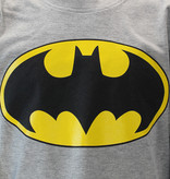 Batman DC Comics Batman Logo Kids Longsleeve Shirt Grey