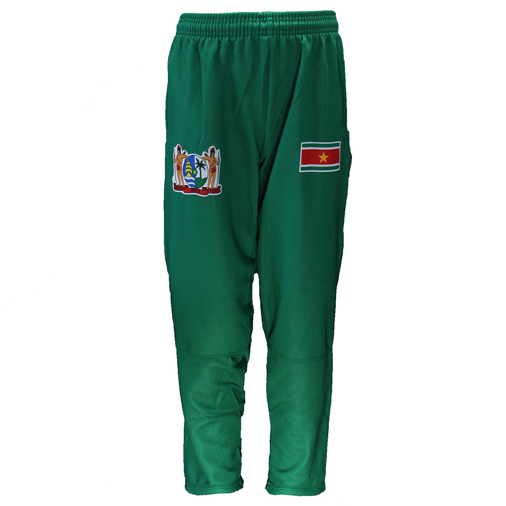 Suriname Suriname Vlag Trainingspak Wit/Rood/Groen/Geel