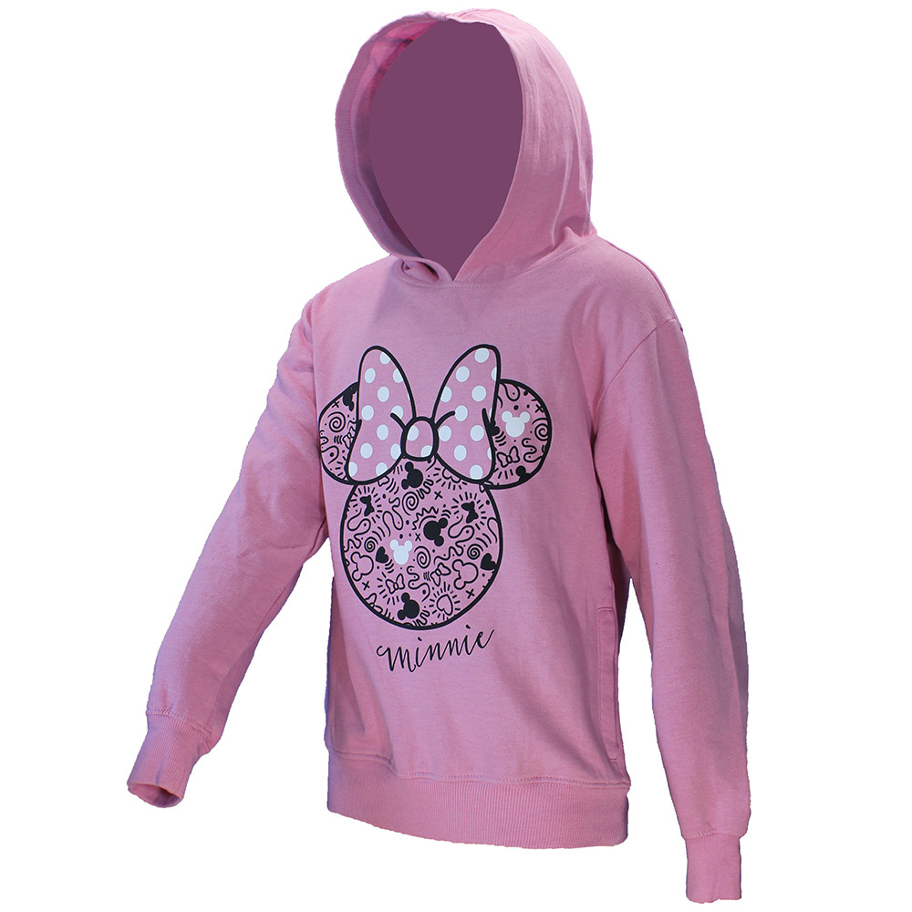 Minnie Mouse Minnie Mouse Trui Sweater met Capuchon Licht Roze