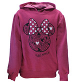 Minnie Mouse Minnie Mouse Hoodie Sweater Dark Pink