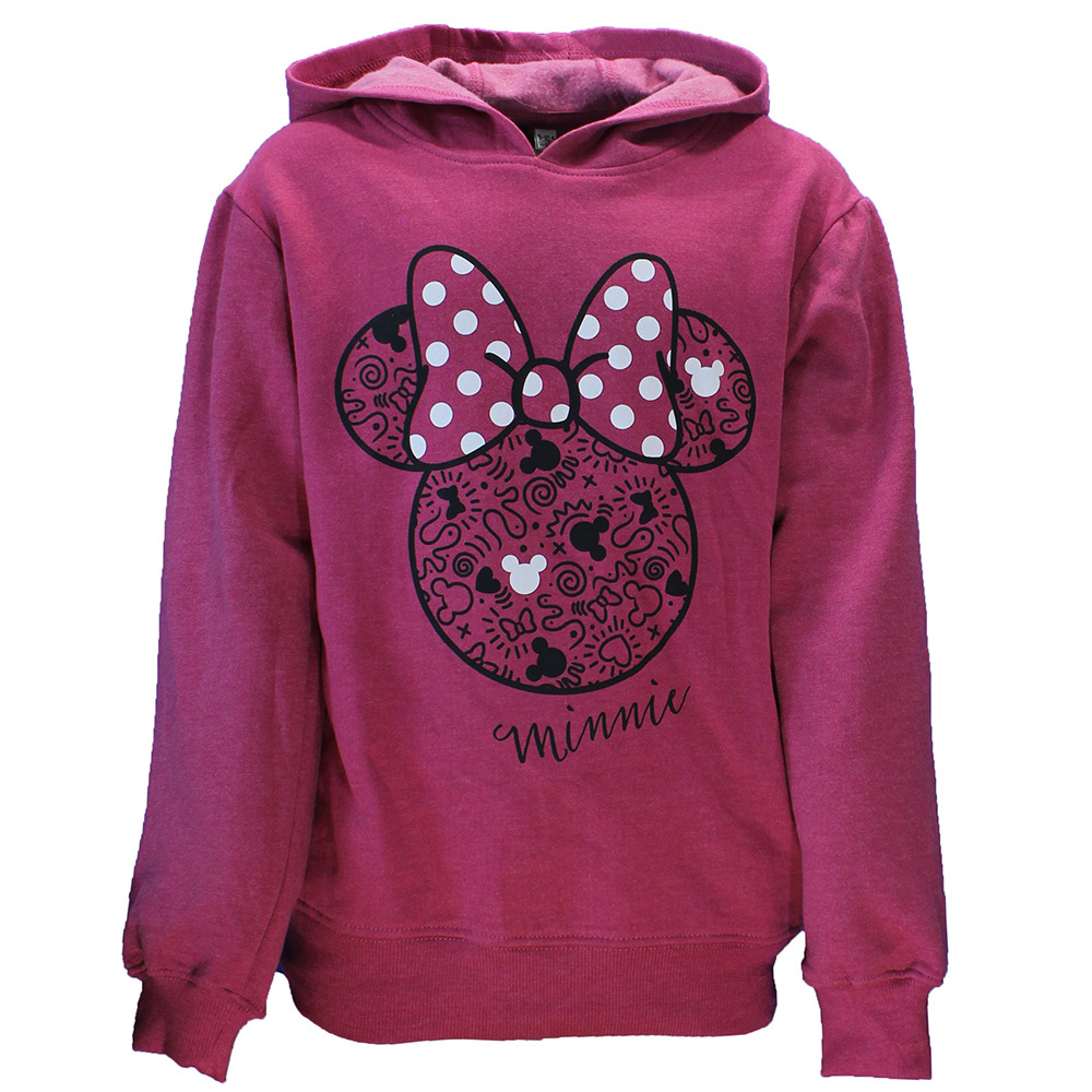 Disney Minnie Mouse Trui Sweater Donker Roze
