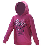 Minnie Mouse Minnie Mouse Trui Sweater met Capuchon Donker Roze