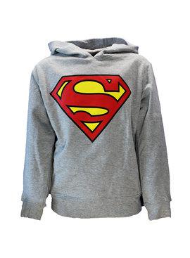 DC Comics: Superman, Batman & The Joker DC Comics Superman Kids Hoodie Sweater Grijs