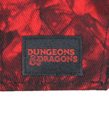 Dungeons & Dragons Dungeons & Dragons Ampersand Logo Red Marble Snapback Cap Pet Zwart / Grijs / Rood