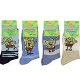 Spongebob Squarepants Nickelodeon Spongebob Socks Kids 4-Pack