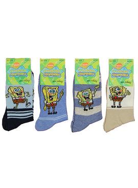 Spongebob Squarepants Nickelodeon Spongebob Sokken Kinderen 4-Pack