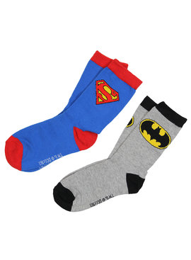 Batman DC Comics Superman + Batman Socks