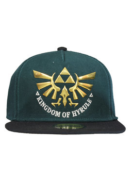 The Legend of Zelda The Legend of Zelda Kingdom of Hyrule Crest Gouden Logo Snapback Cap Pet
