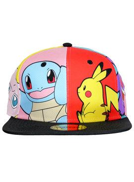 Pokémon Pokémon Characters Pop Art Snapback Cap Pet