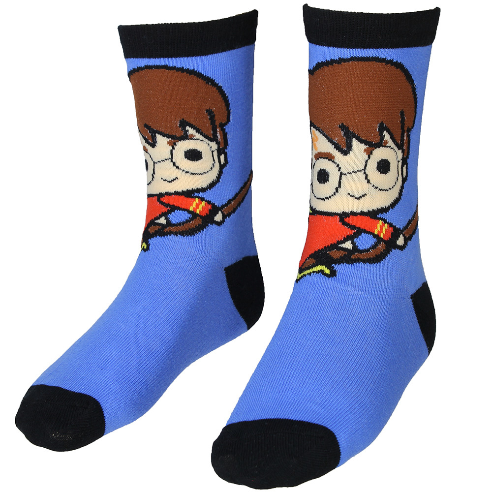 Harry Potter Harry Potter Kids Socks 3-Pack Multicolor