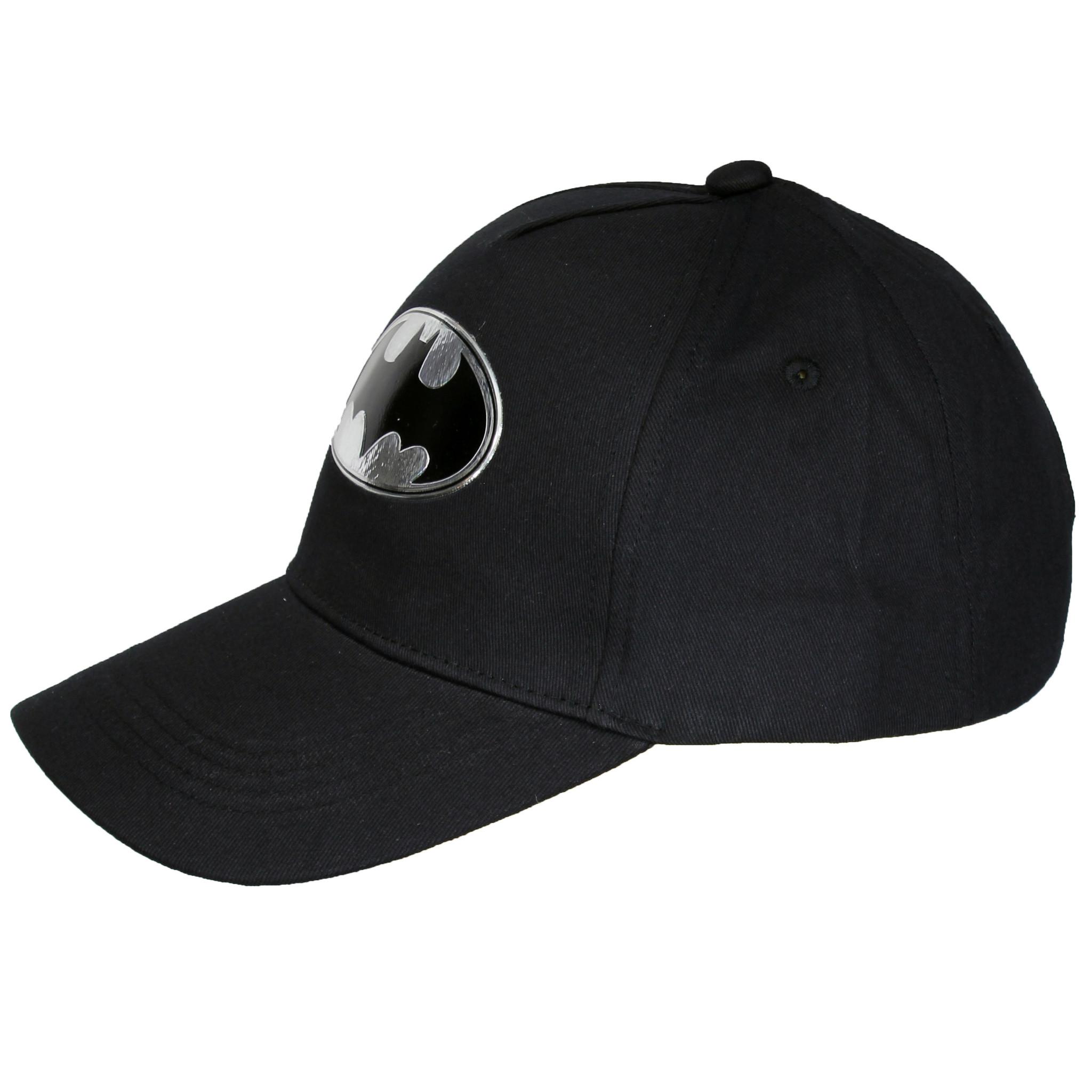 Batman DC Comics Batman Baseball Cap Black / Silver
