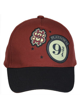 Harry Potter Harry Potter Adults Baseball Cap Platform 9 3/4 Red