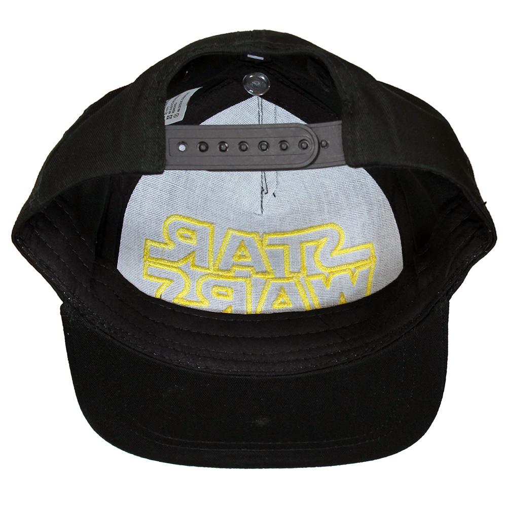 Star Wars Star Wars Hip Hop Pet Snapback Cap Volwassenen Zwart