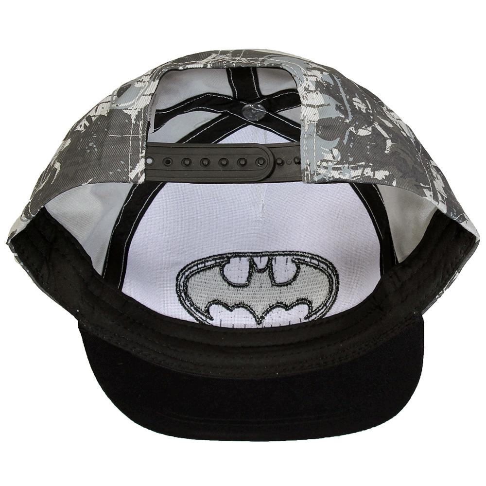 Batman DC Comics Batman Kids Snapback Hip Hop Cap Pet Zwart / Grijs