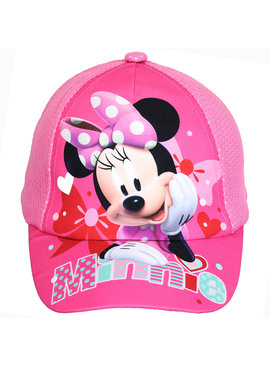 Minnie Mouse Disney Minnie Mouse Kids Cap Pet Licht Roze