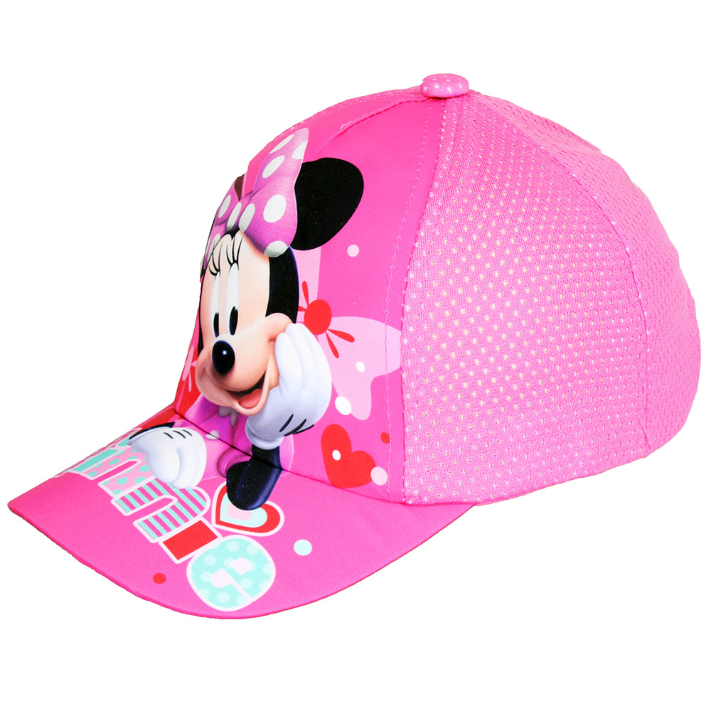 Minnie Mouse Walt Disney Minnie Mouse Kids Cap Light Pink