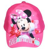Minnie Mouse Disney Minnie Mouse Kids Cap Pet Donker Roze