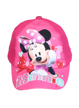 Minnie Mouse Disney Minnie Mouse Kids Cap Pet Donker Roze