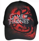 Game of Thrones Game of Thrones Volwassenen Draken Pet Cap Zwart