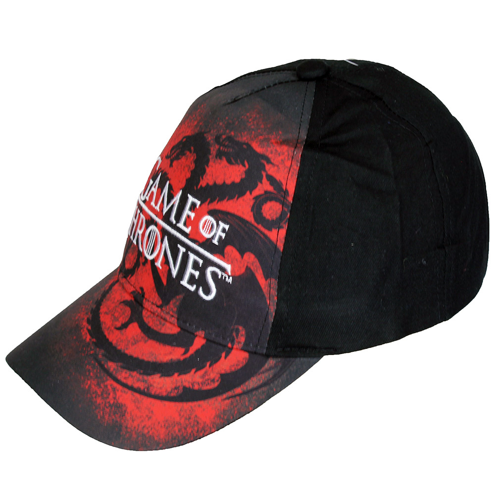 Game of Thrones Game of Thrones Adults Dragon Cap Black