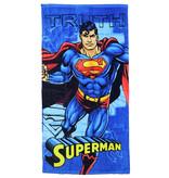 DC Comics: Superman, Batman, The Joker, The Flash & Suicide Squad DC Comics Superman Truth Badlaken Strandlaken Blauw