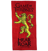 Game of Thrones Game of Thrones Hear Me Roar Lannister Badlaken Strandlaken Rood
