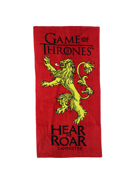 Game of Thrones Game of Thrones Hear Me Roar Lannister Beach Towel