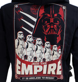 Star Wars Star Wars Join The Empire Vest met Rits  en Capuchon Zwart / Rood