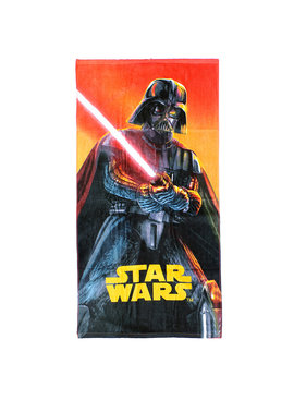 Star Wars Star Wars Darth Vader with Lightsaber Beach Towel Bath